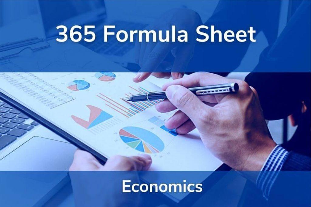 Economics • Formulas CFA® Level 1